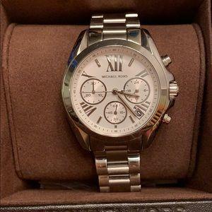 Michael Kors Bradshaw Silver Watch